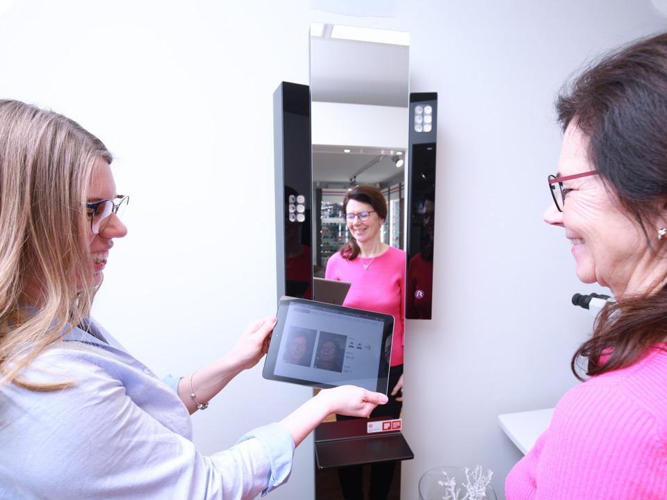 Augenoptik Findeisen digitale Brillenberatung