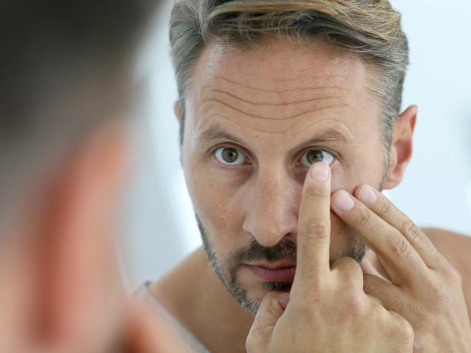 Leistungen Kontaktlinsen